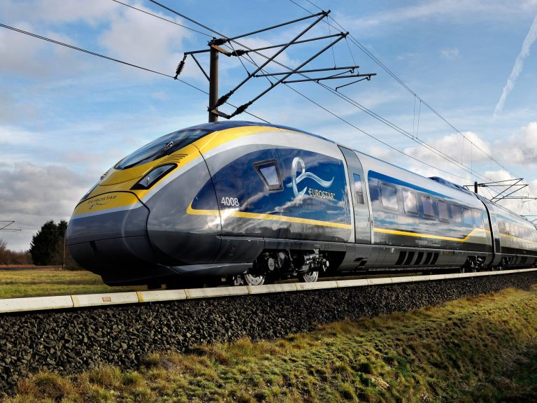 What is the fastest train in the UK?